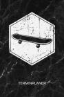 Terminplaner: Skateboarding Liebhaber Kalender Oldschool Skateboarder Terminkalender - Vintage Skater Wochenplaner Retro Skateboard Cover Image