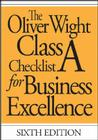 The Oliver Wight Class a Checklist for Business Excellence (Oliver Wight Maufacturing) Cover Image