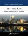 Business Law: Principles and Cases in the Legal Environment Cover Image