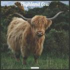 Highland Cow 2021 Wall Calendar: Official Highland Cow Wall Calendar 2021 Cover Image