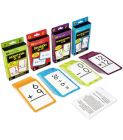 Brighter Child Math Flash Card Set - 4 Sets of Cards Cover Image