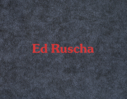 Ed Ruscha: Eilshemius & Me Cover Image
