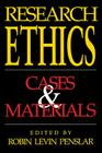 Research Ethics: Cases and Materials Cover Image