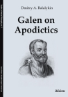 Galen on Apodictics (Studies in Medical Philosophy) Cover Image