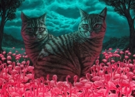 Catbird Seat: A Jigsaw Puzzle by Casey Weldon Cover Image