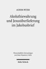 Akoluthiewahrung Und Jesusuberlieferung Im Jakobusbrief (Wissenschaftliche Untersuchungen Zum Neuen Testament 2.Reihe #536) Cover Image