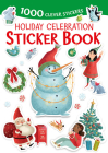 Holiday Celebration Sticker Book: 1000 Clever Stickers Cover Image