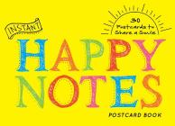 Instant Happy Notes Postcard Book Cover Image