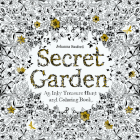 Secret Garden: An Inky Treasure Hunt and Coloring Book (For Adults, mindfulness coloring) Cover Image
