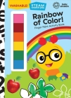 Baby Einstein: Rainbow of Color!: Finger Paint Activity Book [With Battery] Cover Image