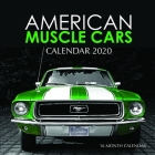 American Muscle Cars Calendar 2020: 16 Month Calendar Cover Image