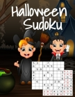 Halloween Sudoku: Kids Puzzle Book For Halloween With Answers - Easy To Medium Hard Puzzles For The Whole Family - Perfect For Long Car Cover Image