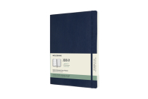 Moleskine 2020-21 Weekly Planner, 18M, Extra Large, Sapphire Blue, Soft Cover (7.5 x 9.75) Cover Image