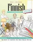 Finnish Picture Book: Finnish Pictorial Dictionary (Color and Learn) Cover Image