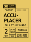 Accuplacer Full Study Guide: Complete Subject Review, Online Video Lessons, 2 Full Practice Tests Book + Online, 200 Realistic Questions, Plus Onli Cover Image