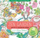Zen Garden Adult Coloring Book (31 Stress-Relieving Designs) Cover Image