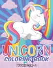 Unicorn Coloring Book For Kids Ages 4-9: Coloring Pages For Children, Kids, Girls Cover Image