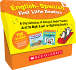 English-Spanish First Little Readers: Guided Reading Level D (Classroom Set): 25 Bilingual Books That are Just the Right Level for Beginning Readers Cover Image