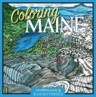 Coloring Maine Cover Image