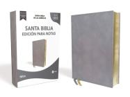 Nbla Santa Biblia Edición Para Notas, Leathersoft, Azul Pizarra, Letra Roja Cover Image