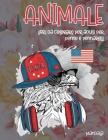 Libri da colorare per adulti per penne e pennarelli - Mandala - Animale Cover Image