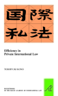 Efficiency in Private International Law (Pocket Books of the Hague Academy of International Law / Les #26) Cover Image