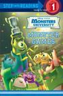 Monster Games (Disney/Pixar Monsters University) (Step into Reading) Cover Image