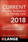 Current Practice Guidelines in Primary Care 2018 Cover Image