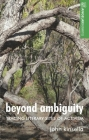 Beyond Ambiguity: Tracing Literary Sites of Activism (Angelaki Humanities) Cover Image