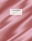 Composition Notebook: Wide Ruled Lined Paper: Large Size 8.5x11 Inches, 110 pages. Notebook Journal: Baby Pink Blanket Workbook for Preschoo Cover Image