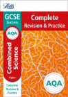 Letts GCSE Revision Success - New Curriculum – AQA GCSE Combined Science Higher Complete Revision & Practice Cover Image