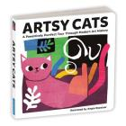 Artsy Cats Board Book Cover Image