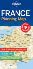 Lonely Planet France Planning Map 1 (Planning Maps) Cover Image