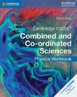 Cambridge IGCSE Combined and Co-Ordinated Sciences Physics Workbook (Cambridge International Igcse) Cover Image