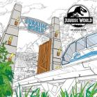 Jurassic World Adult Coloring Book Cover Image