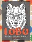Libros para colorear de animales - Líneas gruesas - Animales - Lobo Cover Image