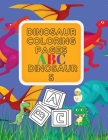 Dinosaur Coloring Pages ABC Dinosaurs Cover Image