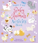 Super-Cute Baby Animals Activity Book Cover Image