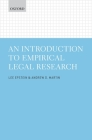 An Introduction to Empirical Legal Research Cover Image
