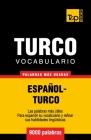 Vocabulario español-turco - 9000 palabras más usadas Cover Image