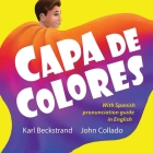 Capa de colores: Spanish with English pronunciation guide Cover Image