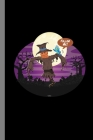 Scarecrow And Bird: Haunted Spooky Halloween Party Scary Hallows Eve All Saint's Day Celebration Gift For Celebrant And Trick Or Treat (6
