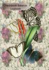 Checkbook Balance Logbook: Checking Account Payment Debit Card Tracking Book 6 Butterfly Ephemera Cover Image