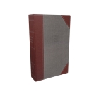 NKJV, Reference Bible, Super Giant Print, Cloth Over Board, Gray/Red, Red Letter Edition, Comfort Print Cover Image