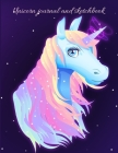 Unicorn journal and sketchbook Cover Image