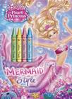 Mermaid Style [With 4 Crayons] Cover Image