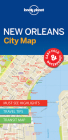 Lonely Planet New Orleans City Map 1 Cover Image
