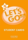 Let's Go 5 Student Cards: Language Level: Beginning to High Intermediate. Interest Level: Grades K-6. Approx. Reading Level: K-4 Cover Image