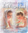 A Catholic Baby's First Prayer Book Cover Image