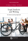 Legal Analysis and Writing: An Active-Learning Approach (Aspen Coursebook) Cover Image